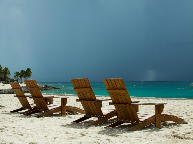 lluvia playa del carmen