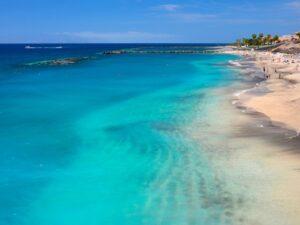 playa de las américas colores