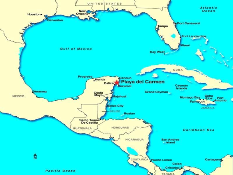 ¿Dónde Queda? Playa del Carmen Mapa: 8 Guías, Mapas Turísticos, Ubicación y más…