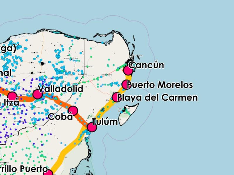 ruta cancun playa del carmen