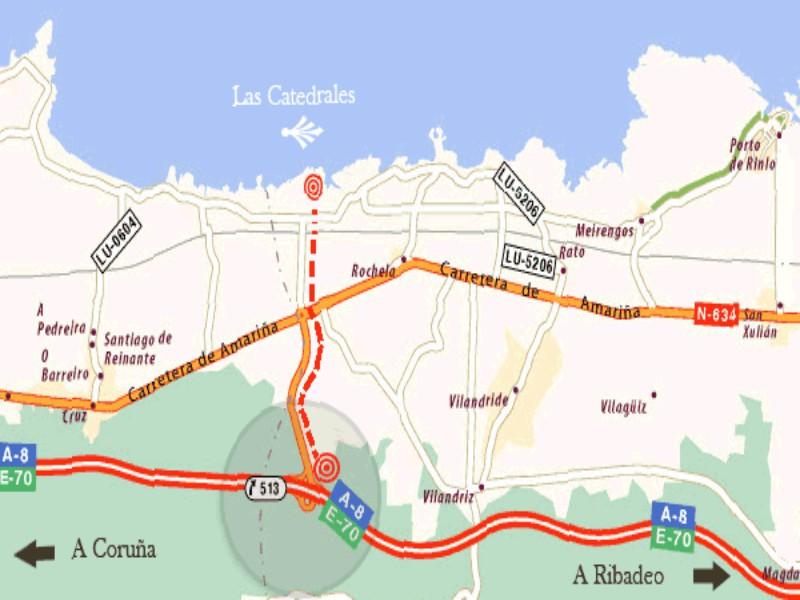 Playa de las Catedrales Cómo llegar: 9 Rutas