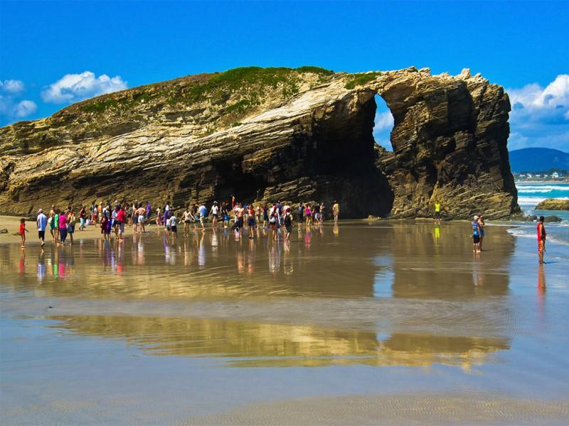 Playa de las Catedrales Reserva Cuándo