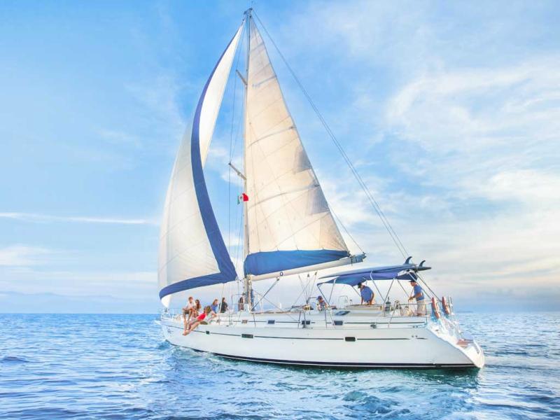 catamarán playa del carmen velero