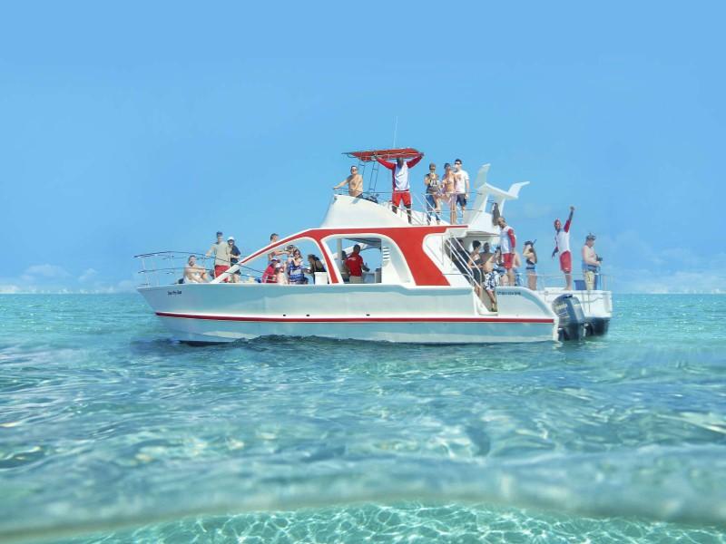 catamaran playa del carmen paseo en barco