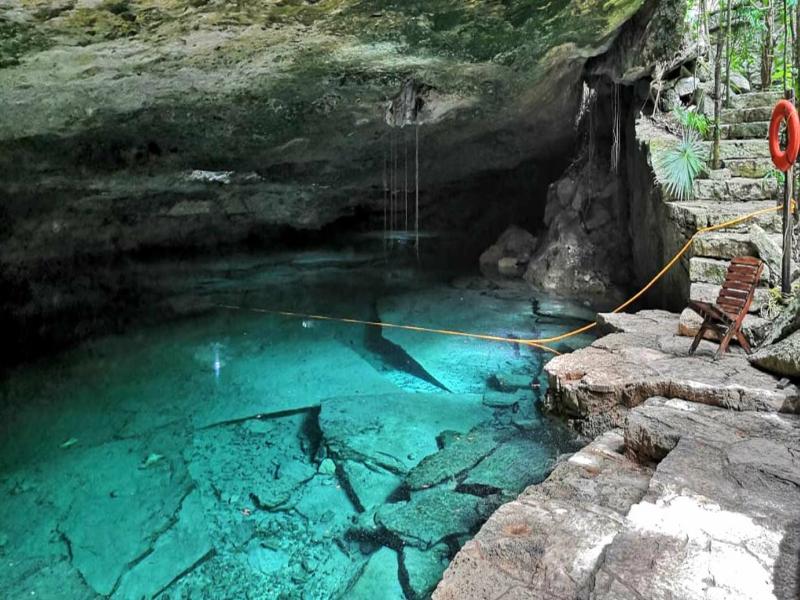 cenotes playa del carmen Kantun Chi