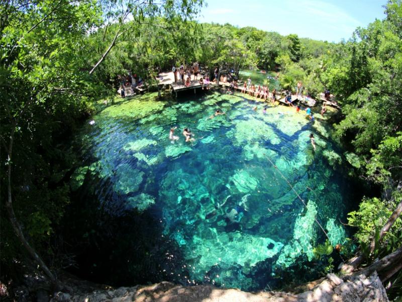 Cenotes Playa del Carmen Cenote Azul