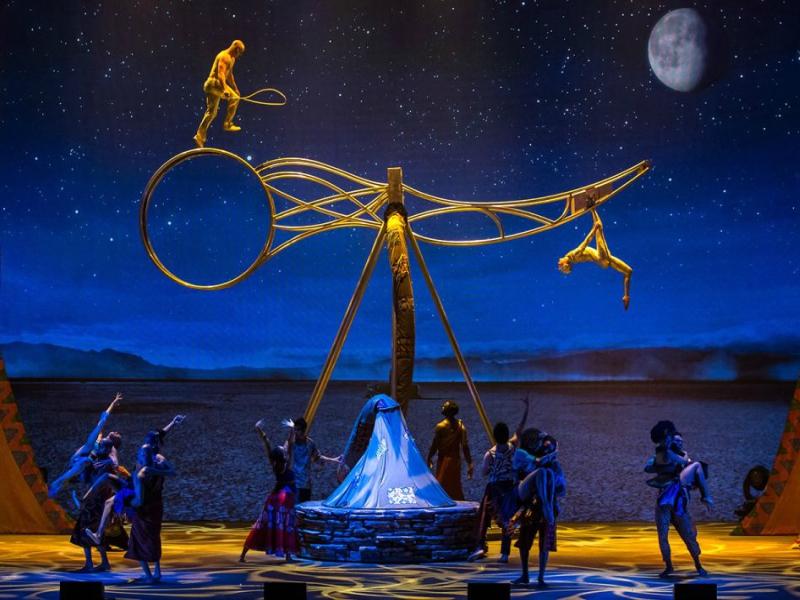 cirque du soleil playa del carmen