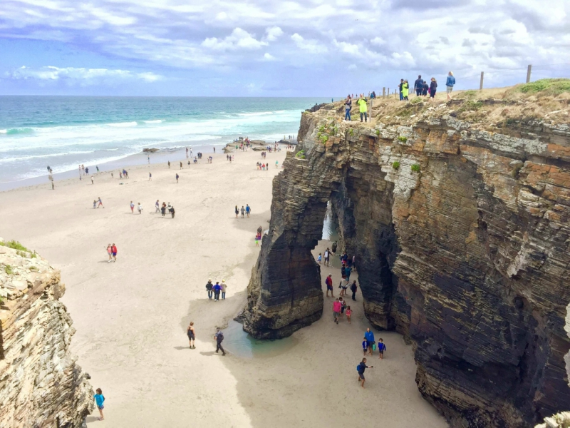 el tiempo en la Playa de las catedrales visitar