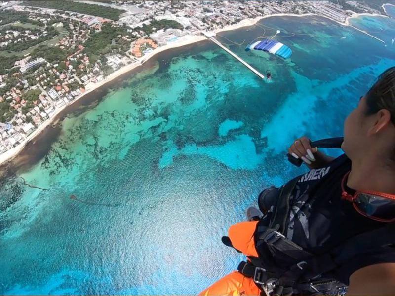 excursiones en playa del carmen skydive