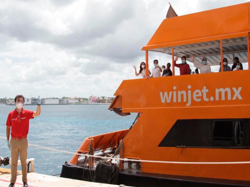 ferry playa del carmen winjet
