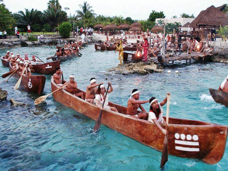 festivales en Playa del Carmen travesía maya