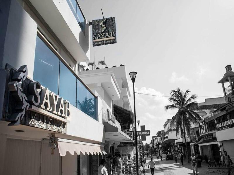 hoteles en Playa del Carmen Sayab 5ta