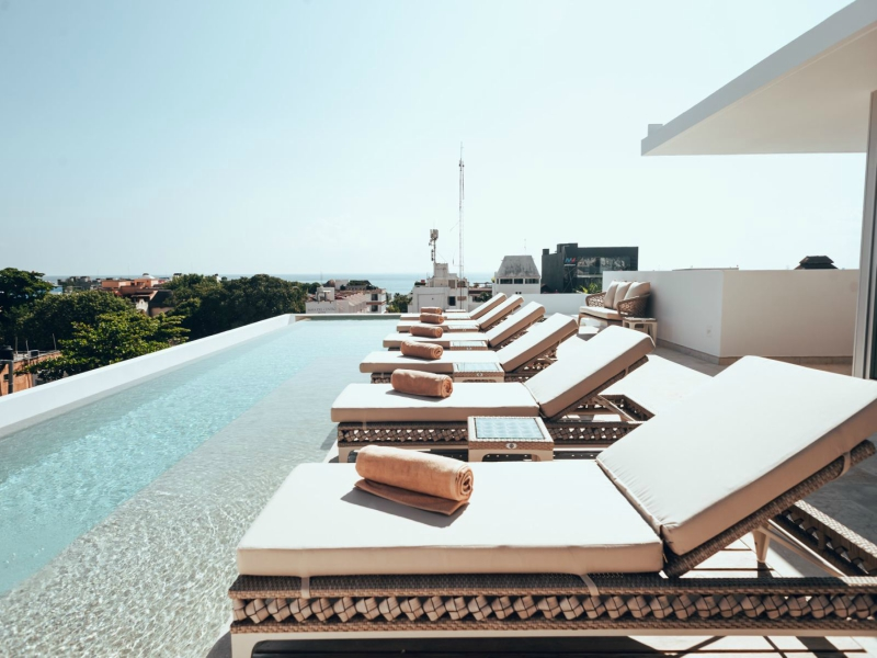 hoteles en Playa del Carmen antera hotel