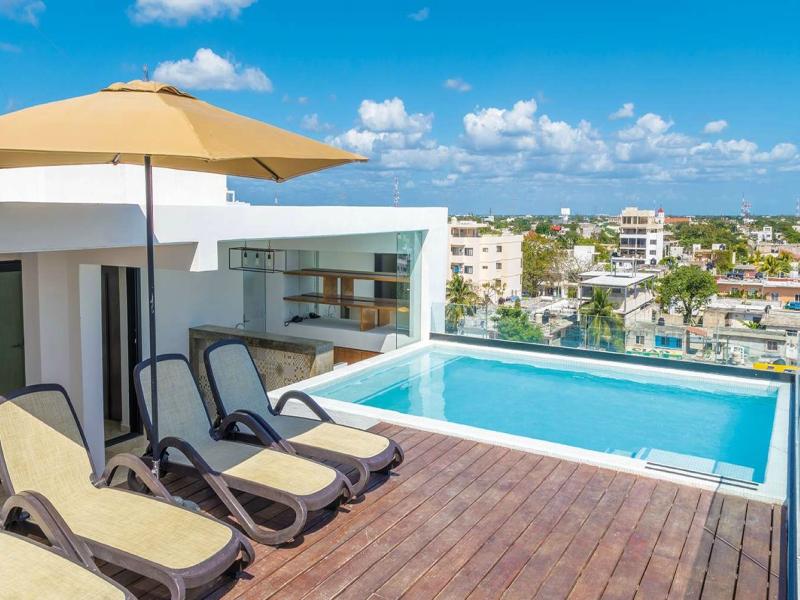 hoteles en playa del carmen hotelito del mar