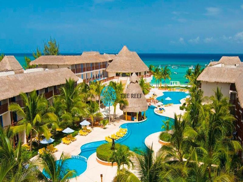 hoteles en playa del carmen Reef Coco Beach