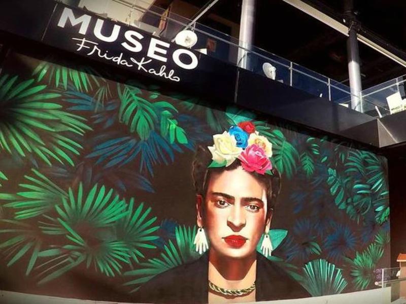 museos en playa del carmen frida kahlo