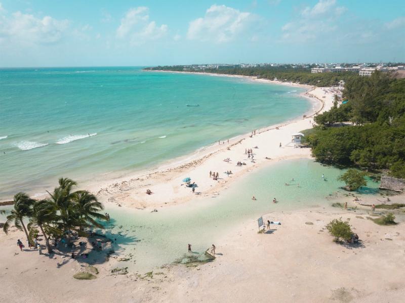 playas en playa del carmen punta esmeralda
