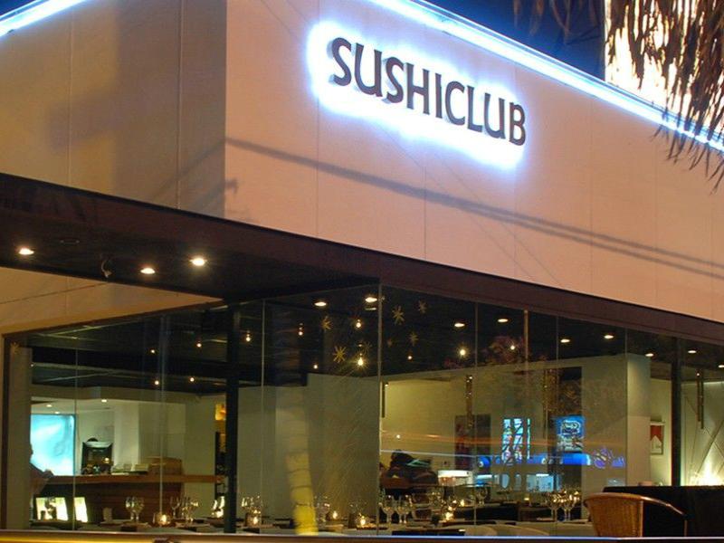 restaurantes en playa del carmen sushi club