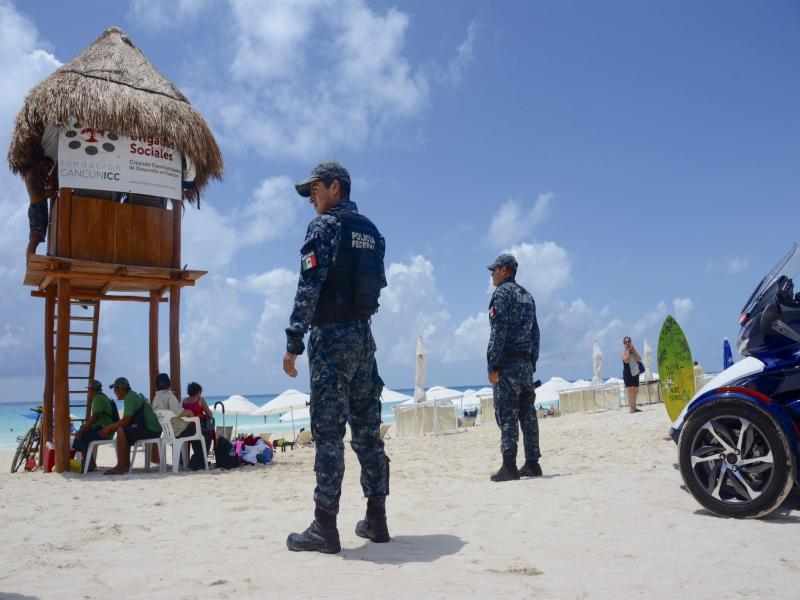 seguridad en playa del carmen inseguridad